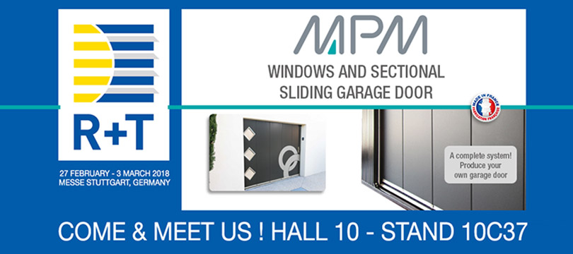 Etienne Lacroix Group - Actualité - MPM Will be Showcasing at the R+T Trade Fair in Stuttgart